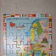 Puzzles: MAPA EUROPA PUZZLE PUZLE. Lote 38710428