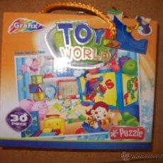 Puzzles: PUZZLE INFANTIL - TOY WORLD - 30 PIEZAS - 27X18 CM - + 3 AÑOS - GRAFIX. Lote 39449951
