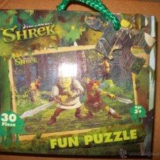 Puzzles: PUZZLE INFANTIL - SHERK - 30 PIEZAS - 27X18 CM - + 3 AÑOS - DREAMWORKS. Lote 39450013