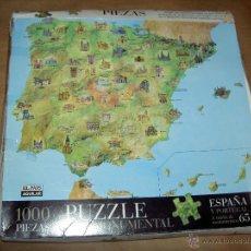 Puzzles: PUZZLE ESPAÑA MONUMENTAL EL PAIS 1000 PIEZAS. Lote 39619663