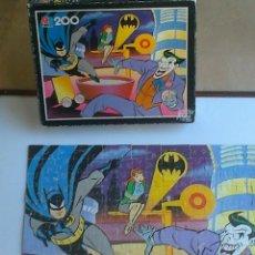 Puzzles: PUZLE 200 PIEZAS , MB JUEGOS - BATMAN , AÑO 1993 . VER ESTADO .. Lote 39631955