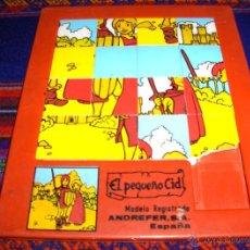 Puzzles: PUZZLE RUY EL PEQUEÑO CID 17X20 CMS. ANDREFER SA. REGALO TABLERO DANONE ASALTO BANDIDOS. RARO!!!!!!!. Lote 39788318