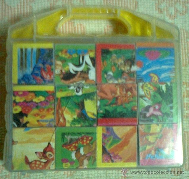 PUZZLE DE CUBOS BAMBI (DISNEY): 6 PUZZLES EN 1 (Juguetes - Juegos - Puzles)