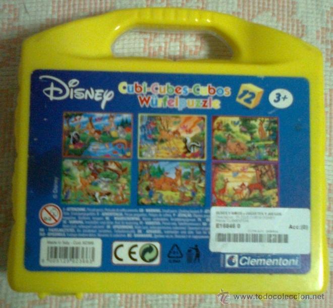 Puzzles: Puzzle de cubos Bambi (Disney): 6 puzzles en 1 - Foto 2 - 39867588