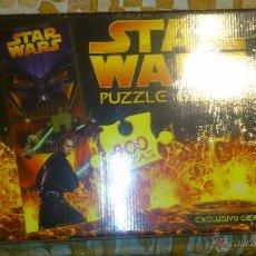 Puzzles: PUZZLE GIGANTE 400 PIEZAS - STAR WARS -136 X 48 CM.PRECINTADO (2005). Lote 40073533