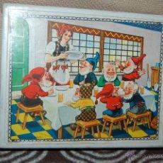 Puzzles: ROMPECABEZAS CUBOS DE BLANCANIEVES AÑOS 60. Lote 40187824