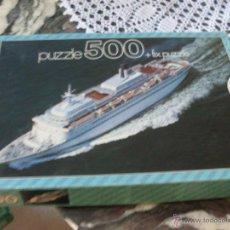 Puzzles: PUZZLE 500 PIEZAS EDUCA (JU1). Lote 40401160
