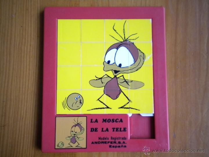 PUZZLE LABERINTO ROMPECABEZAS LA MOSCA DE LA TELE.ANDREFER.AÑOS 80.COLECCIONISTAS (Juguetes - Juegos - Puzles)