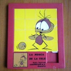 Puzzli: PUZZLE LABERINTO ROMPECABEZAS LA MOSCA DE LA TELE.ANDREFER.AÑOS 80.COLECCIONISTAS. Lote 40547995
