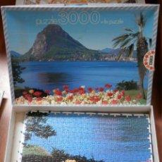 Puzzles: PUZZLE 3.000 PIEZAS. LUGANO Y SAN SALVATORES - EDUCA. Lote 37084571