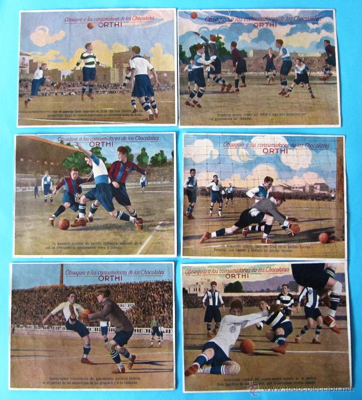 Puzzles: PUZZLE ROMPECABEZAS FUTBOL. BARCELONA, SABADELL, SANS, EUROPA. CHOCOLATE CHOCOLATES ORTHI, TARRAGONA - Foto 2 - 40629577