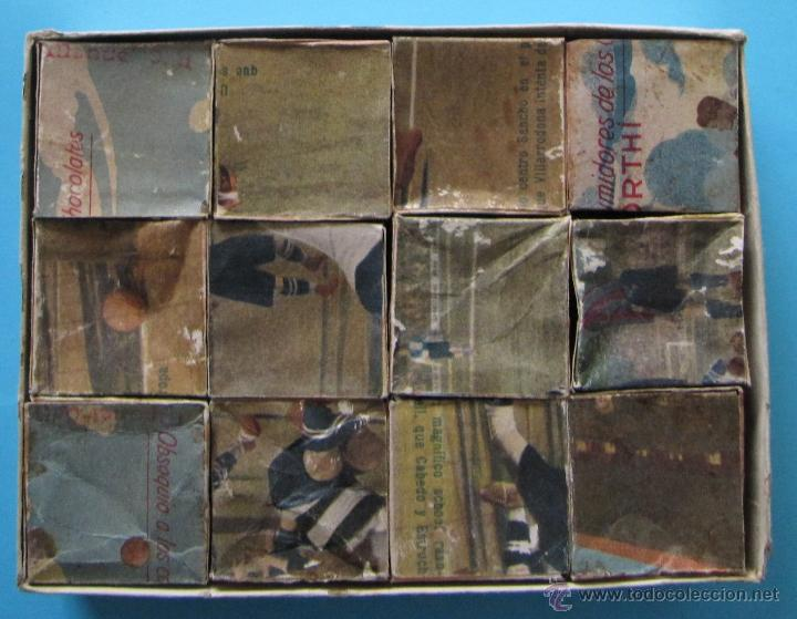 Puzzles: PUZZLE ROMPECABEZAS FUTBOL. BARCELONA, SABADELL, SANS, EUROPA. CHOCOLATE CHOCOLATES ORTHI, TARRAGONA - Foto 3 - 40629577