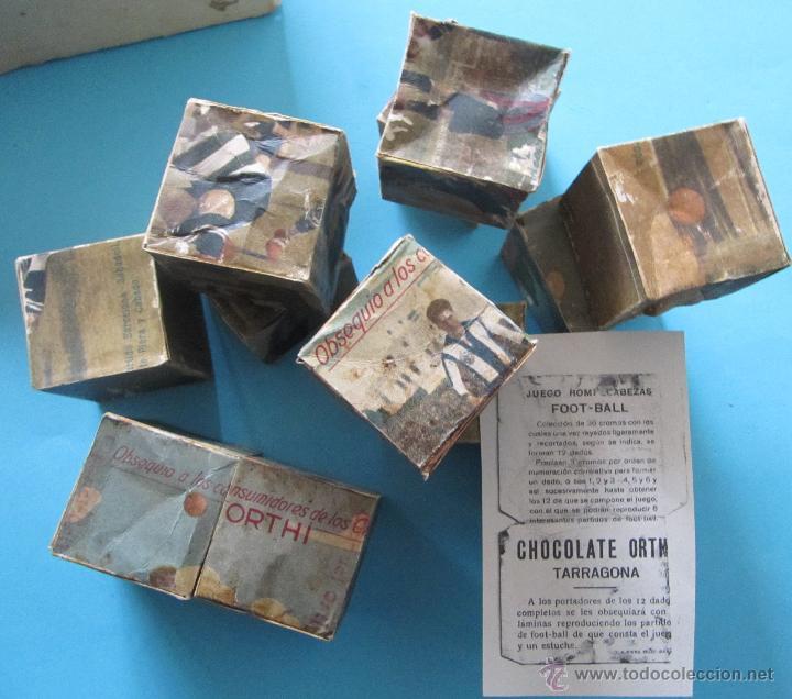 Puzzles: PUZZLE ROMPECABEZAS FUTBOL. BARCELONA, SABADELL, SANS, EUROPA. CHOCOLATE CHOCOLATES ORTHI, TARRAGONA - Foto 4 - 40629577