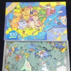 Puzzles: PUZLE EDUCA - ESPAÑA Y SUS AUTONOMIAS - 100 PIEZAS. Lote 40654974