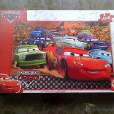 Puzzles: PUZZLE THE WORLD DE CARS. EDUCA. DISNEY - PIXAR. 200 PIEZAS.. Lote 40704719