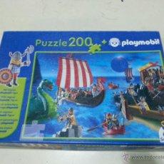 Puzzles: PUZZLE COMPLETO DE 200 PIEZAS PLAYMOBIL . Lote 40890881