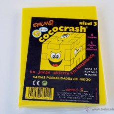Puzzles: COCOCRASH COLOR AMARILLO NIVEL 3. ORIGINAL EVALAND. TOTALMENTE NUEVO. Lote 41080643