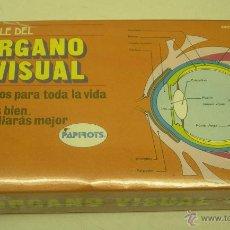 Puzzles: PUZZLE DEL ORGANO VISUAL PAPIROTS AÑOS 80 , NUEVO,PRECINTADO. Lote 41664674