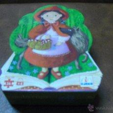Puzzles: CAJA-ESTUCHE CAPERUCITA ROJA.-CONTINE 36 PIEZAS Y SE FORMAN COMO 3 PUZZLES SEGUIDOS. Lote 41764961