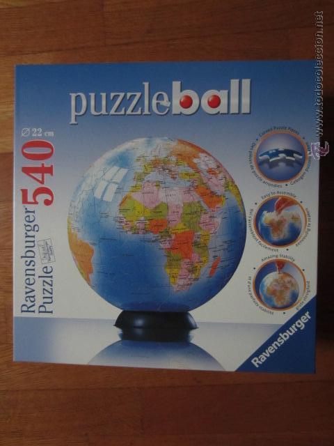 Puzzleball 540 piezas globo terrqueo comprar puzzles antiguos en puzzleball 540 piezas globo terrqueo juguetes juegos puzles gumiabroncs Choice Image