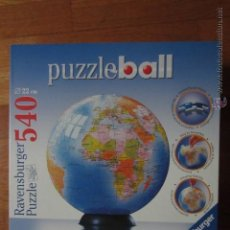 Puzzles: PUZZLEBALL 540 PIEZAS: GLOBO TERRÁQUEO. Lote 42898067