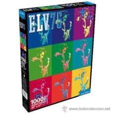 Puzzles: PUZZLE 1000 PIEZAS , ELVIS PRESLEY , 75 ANIVERSARIO . A ESTRENAR PRECINTADO . 50 X 70 CMS. Lote 42910906