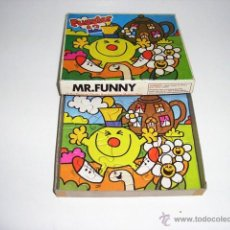 Puzzles: ANTIGUO PUZZLE PUZZLER 12 MR FUNNER MY FIRST.MEN - ARTICULO NUEVO. Lote 43593507