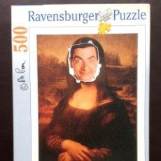 Puzzles: PUZZLE DE 500 PIEZAS DE MISTER BEAN - MONA LISA . Lote 43599757