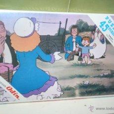 Puzzles: ANTIGUO PUZLE ERASE UNA VEZ EL HOMBRE JUEGOS ODIN . Lote 43963313