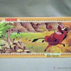 Puzzles: PUZLE, PUZZLE, NESTLE, REY LEON, 8 X 17 CM, 21 PIEZAS. Lote 44155227