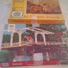 Puzzles: LOTE DE 2 PUZLES 1 DE A WADDINGTON 1971 Y MB PUZZLE 1978.. Lote 44259909