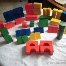 Puzzles: 67 BLOQUES DE MADERA PUZZLE VER LAS FOTOS . Lote 44468200