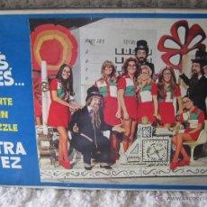 Puzzles: PUZZLE UN, DOS, TRES MONTE UN PUZZLE OTRA VEZ. Lote 44923537