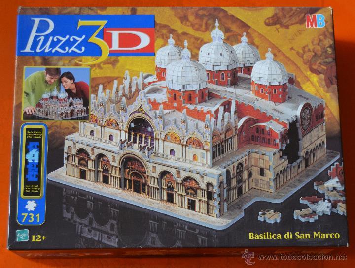 puzle o rompecabezas - 3 d - basilica de san ma - Comprar Puzzles ...