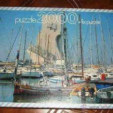 Puzzles: ANTIGUO PUZZLE EDUCA MONUMENTO DE LOS DESCUBRIMIENTOS 2000 PIEZAS 96X68 PUZLE REF: 7937 BUEN ESTADO. Lote 45204257