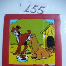 Puzzles: PUZZLE RUBIK WALT DISNEY - DAMA Y VAGABUNDO. Lote 45782691