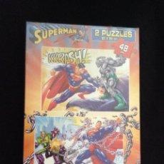 Puzzles: PUZLE - PUZZLE - INFANTIL - SUPERMAN - NUEVO - PRECINTADO. Lote 46700030