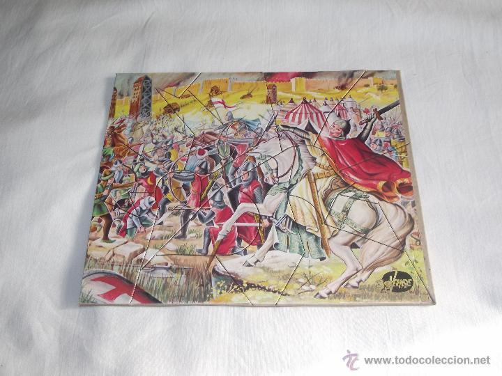 Puzzles: ANTIGUO ROMPECABEZAS / PUZZLE VERMIHE (3 LAMINAS) - Foto 5 - 46837235