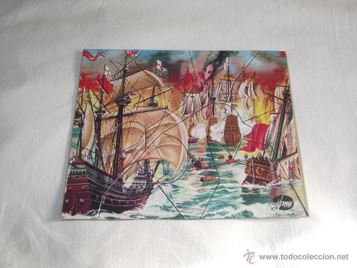Puzzles: ANTIGUO ROMPECABEZAS / PUZZLE VERMIHE (3 LAMINAS) - Foto 6 - 46837235