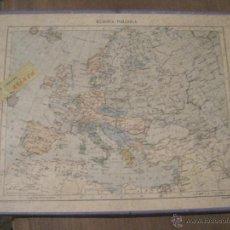Puzzles: PUZZLE EUROPA POLÍTICA. ARINCA. DE MADERA. Lote 47148169
