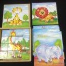 Puzzles: PUZLE INFANTIL - DE CUBOS - 16 CUBOS - 6 ANIMALES - CAR70. Lote 47211811