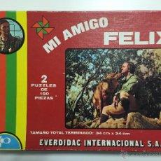 Puzzles: PUZZLE MI AMIGO FELIX, EVERDIDAC , AÑOS 70 - 80 . INCOMPLETO. Lote 47240071