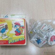 Puzzles: M69 PUZLE PUZZLE DE 24 PIEZAS DE LOS PITUFOS PLAYSKOOL 1983 PEYO MUY RARO Y DIFICIL NUEVO. Lote 47261611