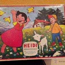 Puzzles: HEIDI ROMPECABEZAS. PUZZLE AÑO 1975. Lote 47350620
