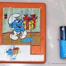 Puzzles: PUZZLE MINI LOS PITUFOS AÑOS 80 PUZLE. Lote 47478836