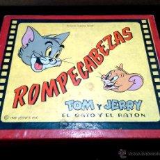 Puzzles: PUZZLE DE CUBOS DE CARTÓN DE TOM Y JERRY DE LOEW'S INC 1958 - EXCLUSIVO DE JUGUETES BORRÁS. Lote 47495944
