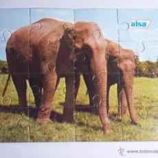 Puzzles: PUZLE PUBLICITARIO (ALSA) MEDIDAS: 14X10,5. Lote 47531891