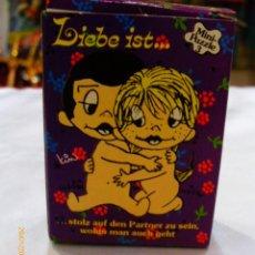 Puzzles: MINI PUZZLE Nº3 LIEBE IST.../ EL AMOR ES... 54 P. (12,5X17,5).SCHMID 70S.NUEVO.. Lote 115251898