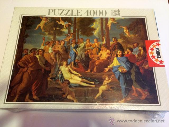 PUZZLE EDUCA 4000 PIEZAS - EL PARANSO NUEVO (Juguetes - Juegos - Puzles)