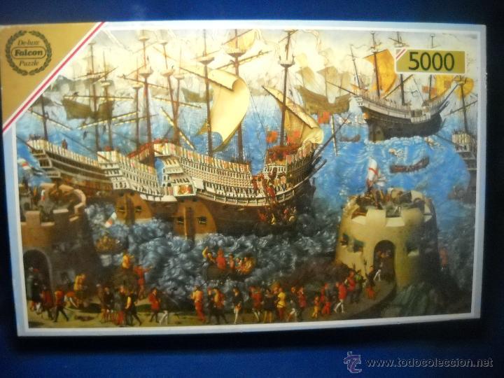 puzzle 5000 piezas falcon de luxe nuevo comprar